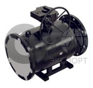 Кран шаровой фланцевый стандартнопроходной DN300 PN25 сталь 20