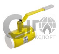 Кран шаровой муфтовый стандартнопроходной DN100 PN25 (газ) сталь 20