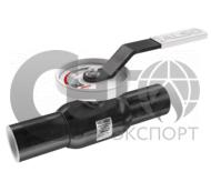 Кран приварной запорно-регулирующий без измерительного блока DN100 PN25 ст.12Х18Н10Т