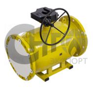 Кран шаровой фланцевый стандартнопроходной DN300 PN25 (газ) сталь 20