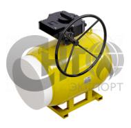 Краны газовые стандартнопроходные под редуктор/электропривод ст.20
