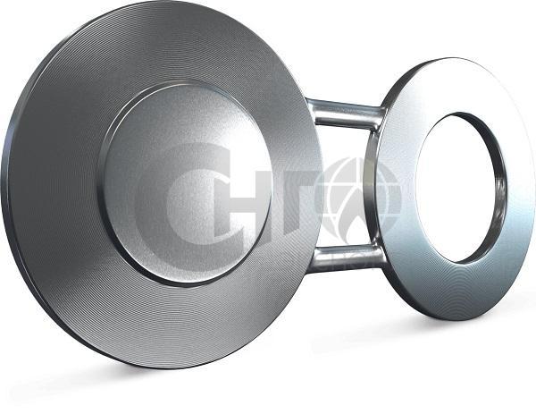 """Заглушка поворотная стальная 1/2"""" DN 15 Class 150 FF ASME B 16.48"""